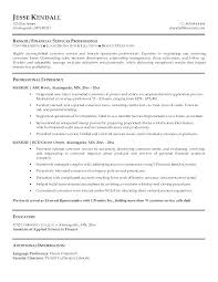 Bank Teller Experience Resume Magnificent Business Banker Resume Samples Banking Bank Teller Format Sample For