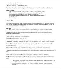Presentation Outline Template Word - Fast.lunchrock.co