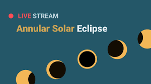 watch 'ring of fire' solar eclipse live ...