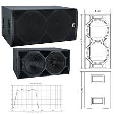sound system speaker box design. 2015 latest design 18 inch sub bass +china sound system subwoofer speaker box .