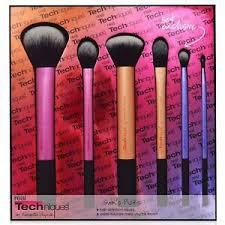 real techniques rt 1415 sam s picks makeup brush set 6 pieces