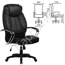 Купить <b>Кресло офисное МЕТТА LK-12PL</b>, экокожа, черное, ш/к ...