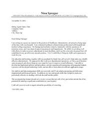 Administrative Assistant Cover Letters Samples Cover Letter Example