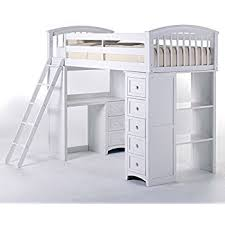 Amazon ACME Willoughby White Loft Bed Kitchen & Dining
