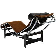 le corbusier chaises intended for widely used le corbusier lc4 chaise lounge chair in cowhide for
