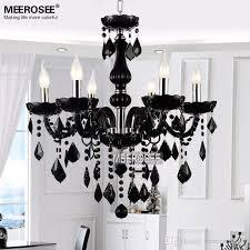 small crystal chandelier lamp fixture black crystal light candle glass chandelier lighting er living room mds01 table chandelier ball chandelier from