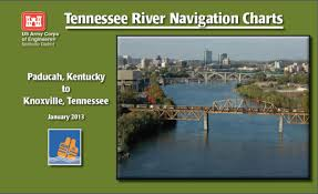 Army Corps Of Engineers River Charts Chart Tennessee River Nav Charts Nashville District Paducah Ky To Cross Roads