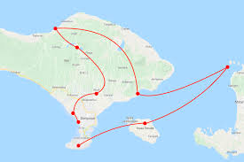 what is a travel itinerary backpacking bali itinerary the best bali route wanderers
