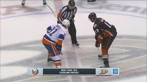 New York Islanders vs. Anaheim Ducks OT (November 22) | NBC ...
