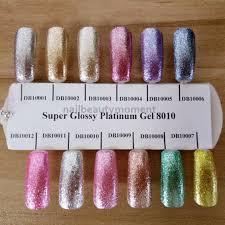 Nail Beauty Uv Glitter Sparkle Gel Polské Umění Akrylové Nehty Krása