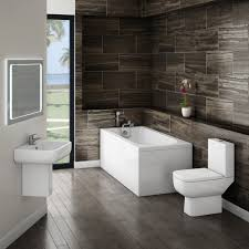 Modern Bathroom Accesories Beige Bathroom Accessories Set Grey Color Wall Mounted Wooden