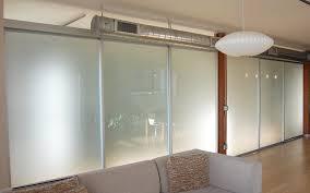 sliding glass barn doors for office