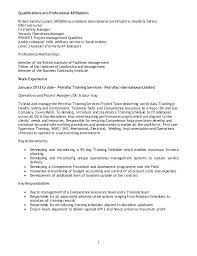 Professional Memberships On Resume Resume For A Program Director