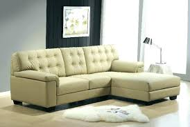 brown leather l shaped couch tan sofa view option