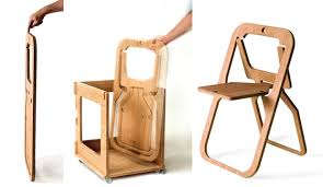 foldable cardboard furniture. Christian Desile\u0027s Folding Chair Was An Award-winning Standout At September\u0027s Maison \u0026 Object, Foldable Cardboard Furniture D