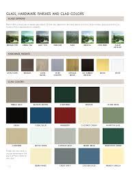 Jeld Wen Vinyl Window Color Chart Marvin Windows And Doors Product Catalog