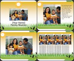 Family Reunion Flyers Templates Family Reunion Flyer Template Excel Word Templates