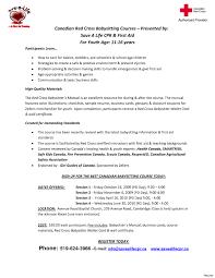 Sample Red Cross Resume Creative Sample Red Cross Resume Capricious Basitter Resume 1