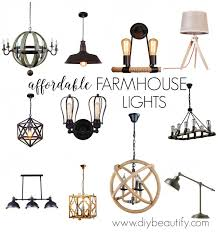 inexpensive lighting fixtures. Design Discount Lighting For Farmhouse Style And A Giveaway DIY Beautify Pertaining To Light Fixture Decor Inexpensive Fixtures