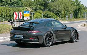 2018 porsche gt3. wonderful porsche the new 2018 porsche 911 gt3 rs spyshots  and porsche gt3