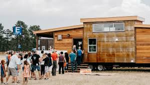 Small Picture The Tiny House Revolution Goes Huge Outside Online
