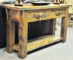 rustic sofa table ideas. Copyright Ac Southern Creek Rustic Furnishings All Rights Reserved Sofa  Table Ideas Barn Wood . O
