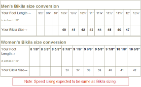 vibram size chart vibram fivefingers speed for sale in the u s