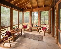 screen porch furniture. Columbia Falls Montana United States Screen Porch Furniture With Farmhouse  Outdoor Pots And Planters Rustic Cozy