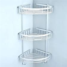 corner shower shelf stone showers