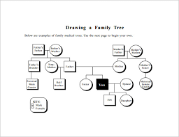 genealogy diagram family tree diagram template 9 free sample example format