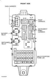 2000 mitsubishi diamante blower speed control relay heater bloer relay in fuse junction box see diagram