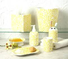 yellow bath rugs sets yellow and gray bathroom sets yellow and grey bathroom accessories gray and