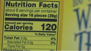 reasons why wheat thins nutrition facts label is getting more por in the past decade wheat thins nutrition facts label