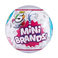 Игрушки-сюрпризы от ZURU - от <b>5 Surprise</b> Mini Brands - LolsDolls