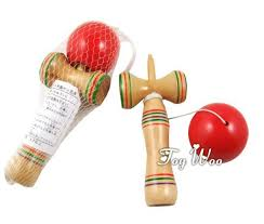 Wooden Ball And Cup Game New 32pcs 32cm Length Kendama Cup And Ball Game Kendama Japanese Toy