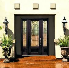 glass front doors decorative front doors with glass have an effect of an extra window upvc glass front doors