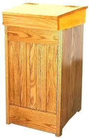 tilt out trash cabinet wooden tilt trash bin wood trash cabinet wooden trash bins for kitchen