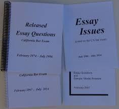 Bar Exam Essays Bar Exam No Essay