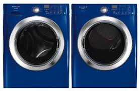 blue washer and dryer. Delighful Blue Pin Frigidaire Affinity Blue Front Load Washer U0026 Gas Dryer And