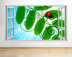 wall stickers ladybug forest magic