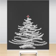 Christmas Tree 3 Wall Sticker Vinyl Decal  The Wall WorksChristmas Tree Decals