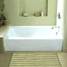 60x34 bathtub villager 5 ft cast iron right hand drain rectangular farmhouse a front non whirlpool