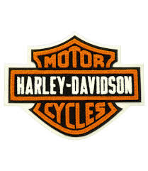 harley davidson chenille bar shield patch br