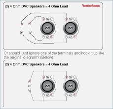 2 4 ohm dvc subs wiring data diagrams arresting dual voice coil ohm dual voice coil wiring diagram marvelous stain kicker srt sub best