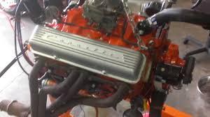 1965 Corvette 327 Motor / Carburetor to Oil Pan Complete ...
