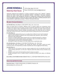 Nursing Resume Templates Resume And Cover Letter Resume And