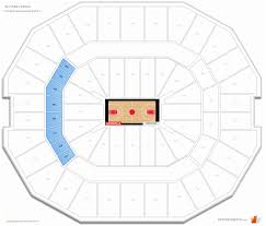 Louisville Seating Chart Football 44 Credible Yum Center Louisville Kentucky Seating Chart