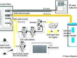 120 Volt Wire Size Chart 240 Volt Sub Panel Taskanderrand Co