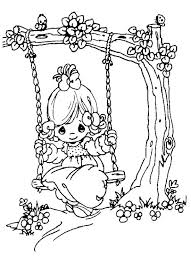Precious Moments First Communion Coloring Pages Menotomyme