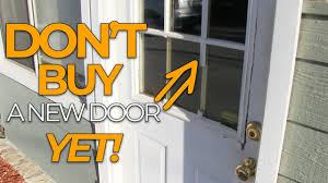 door window frame diy door fix